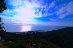 Port Ginesta (angelalonso4) Tags: canon eos 7d mark ii efs1018mm f4556 is stm ƒ80 100 mm 11000 port paisaje mediterraneo mar sea azul blue blanco white orange sky