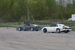 DSC_9738 (Find The Apex) Tags: nolamotorsportspark nodrft drifting drift cars automotive automotivephotography nikon d800 nikond800 tandemdrift tandem tandemdrifting tandembattle nissan 240sx nissan240sx s13 s14
