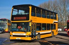 Midland Classic, Burton 55 (TFA 13) (Martha R Hogwash) Tags: yn54 oag tfa 13 scania n94ud east lancs london sovereign sle5 midland classic burtonontrent stevensons uttoxeter heritage livery