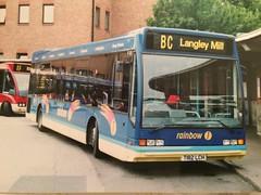 T182 LCH 182 (nevetsyam1404) Tags: derbybusstation rainbow1 wellglade trentbarton trentbuses trent b43f l1150 excel optare optareexcel optareexcell1150 182 t182lch