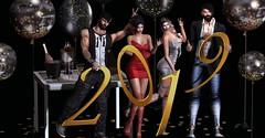 ᕼᗩᑭᑭϒ ᘉᕮᗯ ϒᕮᗩᖇ 2019 (ImperialAms) Tags: 2019 newyear friends family amsy secondlife sexy shooting style attitude virtualworld