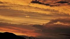 Ainda Verão!!! 7:13 p.m (Ruby Ferreira ®) Tags: pordosol sunset clouds nuvens pntheroad naestrada silheutas silhouettes árvores trees notreatment