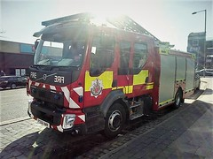 6263 - GMFRS - PO68 WWR - 53348938 (Call the Cops 999) Tags: uk gb united kingdom great britain england north west 999 112 emergency service services vehicle vehicles greater manchester fire and rescue gmfrs volvo the chinese buffet 27 february 2019 one pump ladder po68 wwr