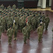 Soldiers from Task Force Arctic participate in a Transfer of Authority ceremony at Camp Humphreys