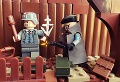 Resistance Fighters, French Forces of the Interior (brickhistorian) Tags: france fig forces fighter figbarf french free resistance war world ww2 wwii two guerilla minifig minifigure moc military liberation dday lego legos history brick bricks build building