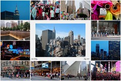 New York City via Collage (Eclectic Jack) Tags: new york city newyork coast east nyc apple big july 2018