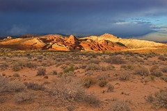 Sun Peek Valley of Fire 2737 B (jim.choate59) Tags: jchoate on1pics valleyoffire sandstone desert magichour nevada lasvegas