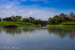 (Fountain_ofPeace247) Tags: river boat raw nikon d500 boats colors colorful green blue sky asia asian clouds architecture artistic orient taiwan taiwanese easterntaiwan