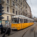 Budapest: (almost) historic tram in service on route No. 2