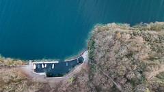 Bourdeau vu d'en haut (Nicomonaco73) Tags: drone dji mavic pro sea lake lac du bourget savoie chambery shot nature
