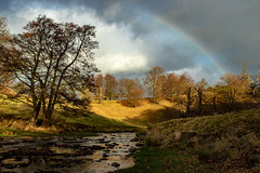 Studley Royal, Yorkshire, England (ukr_alex1) Tags: lanscape river rainbow countryside