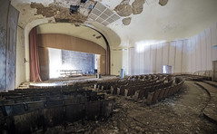 No more matinee (Mike Foo) Tags: urbex abandoned abbandono rozklad opuštěný opuszczony derelict decay fuji fujifilm xt2 forgotten forbidden hall eerie spooky haunting