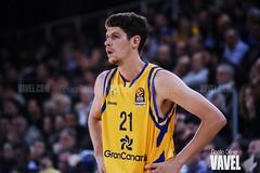 DSC_0259 (VAVEL España (www.vavel.com)) Tags: fcb barcelona barça basket baloncesto canasta palau blaugrana euroliga granca amarillo azulgrana canarias culé