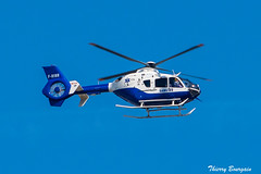 [ORY] SAMU 89 INAER Eurocopter EC135 _ F-HINR (thibou1) Tags: thierrybourgain lfpi spotting aircraft airplane nikon d810 tamron sigma hélicoptères samu89 eurocopterec135 fhinr orly lfpo ory airbushelicopters verticale