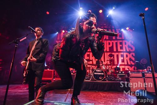 The Interrupters fan photo