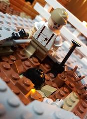 Bomb Disposal Engineer, Royal Engineers Bomb Disposal Company (brickhistorian) Tags: war world ww2 wwii two brick bricks build building battle bomb explode explosion britain brit uk lego legos luftwaffe minifig minifigure moc military blitz london engineer history