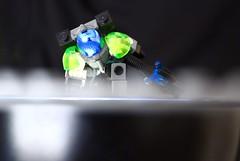 Lego Astronaut / Cosmonaut Soldier Landing (thebrickccentric) Tags: lego mech scifi sci fi star soldier astro astronaut cosmo cosmonaut landing space gun blaster laser suit robot android cyborg science fiction fantasy beam ray metal armor hardsuit mecha power energy blast beautiful blue green white black arm leg limb helmet visor jet jetpack air tank military war wars fight battle moc npu hand footshoulder hip joint hinge rubber band rubberband flexible moving posable tiny small mini