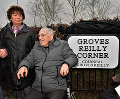 Clara Reilly & Emma Groves (AntrimLens) Tags: relatives justice relsforjustice rfj emma groves clara reilly belfast west irish ireland ulster antrim falls road conflict troubles ira inla uvf uff uda ruc udr british army plastic rubber bullets gerry adams