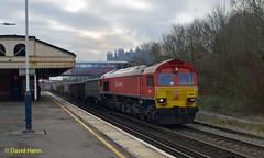 Southampton 59201 (davidhann34016) Tags: 59201 class59 stdenys southampton 7z52