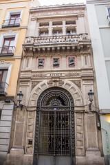 edificio del Ateneo de Madrid calle del Prado 21 (Rafael Gomez - http://micamara.es) Tags: ateneo esp españa madrid edificio del de calle prado barrio las letras
