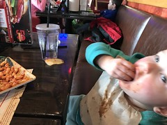 """Dani Eats Pasta at Red Robin • <a style=""""font-size:0.8em;"""" href=""""http://www.flickr.com/photos/109120354@N07/46917269812/"""" target=""""_blank"""">View on Flickr</a>"""