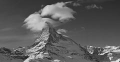Binomial (Alpine Light & Structure) Tags: switzerland schweiz suisse snow winter alps alpen alpes matterhorn zermatt cervin clouds cervino alpinelightstructure