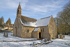 St Oswald's Church, Shipton Oliffe (Roger Wasley) Tags: st oswalds church shipton oliffe gloucestershire architecture history ancient building cotswolds listed