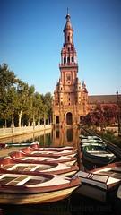 Praça de Espanha (vmribeiro.net) Tags: landmark plaza spanish seville square andalusia building europe spain city attraction monument exterior historic sony z1 sevilha espanha praça