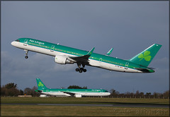 EI-LBR Boeing 757-2Q8(W) ASL Airlines / Aer Lingus (elevationair ✈) Tags: dublin airport dublinairport dub eidw airliners airlines avgeek aviation airplane sun sunny sunshine shamrock aerlingus rotate boeing 757 752 boeing7572q8w asl aslairlines eilbr