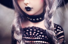 The Titan (Chantepierre) Tags: bjd balljointeddoll balljointed doll fairyland minifée minifee céline celine fc fullcusto full custo custom chantepierre ladicius legit legitdoll goth gothic modern witch
