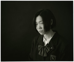 HIKARINOKO (Tamakorox) Tags: student highschoolstudent graduate portrait art mamiyarb67prosd japan japanese asia lights shadow pleasure love film filmphotography fujivarigradewp analoguecamera b&w hikarinoko kodak tmax iso400 日本 日本人 光 影 喜び 卒業 愛 高校生 光の子 玉掛寫眞館 ポートレート