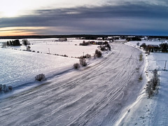 Aerial View Of The Icy River (k009034) Tags: 500px winter day finland scandinavia aerial view afternoon clouds cold countryside dramatic sky drone farm farming fields frost ice moody nature river rural scenic snow sunset trees coldness blue horizon waters edge over water teamcanon aerialview dramaticsky moodysky