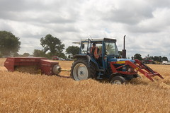 Melleray Vintage Club Vintage Combine Exhibition 2018 Ford Tractor with a New Holland 377 Square Baler (Shane Casey CK25) Tags: melleray vintage club combine exhibition 2018 ford tractor new holland 377 square baler blue sperry red cnh nh newholland casenewholland working day workingday lismore county waterford traktor traktori tracteur trekker trator ciągnik winter barley ireland irish farm farmer farming agriculture agri work harvest2018 harvest18 corn2018 corn18 grain2018 grain18 farmmachinery machinery