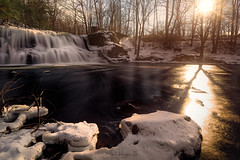 A River Never Dwells in the Past (Simmie | Reagor - Simmulated.com) Tags: 2019 connecticutphotographer d750 evening ice landscapephotographer march middlefield middlesexcounty middletown naturephotographer nikon snow winter digital water waterfall greatphotographers