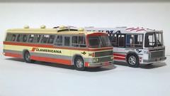 Nielson DIPLOMATA 70 e 77 (RonaldoM27) Tags: scania bus miniatura modelismo papercraft papermodel