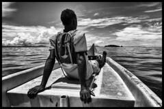 Forward to Nosy Tanikely / Вперед на Носи Таникели (dmilokt) Tags: природа nature пейзаж landscape остров island dmilokt лодка boat чб bw черный белый black white ins d3