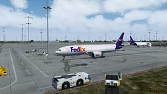 [P3D V4.4] Memphis pre-flight to Anchorage (danielrds) Tags: p3d p3dv4 prepar3d pmdg b777 b77l cargo fedex fdx fx fdx15 fx15 memphis anchorage kmem mem panc anc vatsim online vatsimexperience