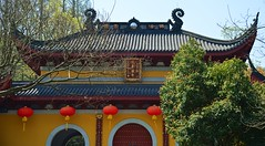Hangzhou - Faxi Temple (cnmark) Tags: china hangzhou west lake longjing faxi temple trees colourful colorful architecture architektur 中国 杭州 法喜禅寺 法喜寺 上天竺 西湖 ©allrightsreserved