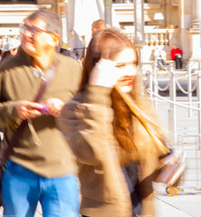 Abstract flow 5 A smile (thierry_meunier) Tags: carroussel france louvre paris abstract colors creativity crowd effect femme flou flow homme lowkey man men mouvement people rue street streetphotos surexposition woman women