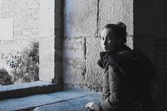 Ana (Letua) Tags: ana barcelona blackwhite crazytuesday montjuic blancoynegro portrait retrato