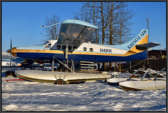N491K Katmai Air (sans Rudder) (Bob Garrard) Tags: n491k katmai air de havilland canada dhc3 turbo otter lakehood anchorage alaskalhdpalh