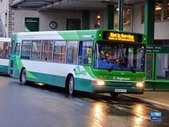 NK56FFO - Kendal Bus Station, Kendal, Cumbria, March 2019. (Iveco 59-12) Tags: stagecoachinthelakes stagecoachcumbriaandnorthlancashire stagecoachlakedistrict stagecoachnorthwest alexanderdennis dartslf pointer adl nk56ffo 35193