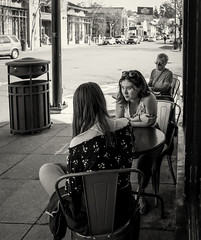 untitled-01163-2 (Stevenchen912) Tags: streetphoto streetcandid streetportrait streetfavorites portrait contrast composition geometry inspired women bw blackwhite candid decisivemoment