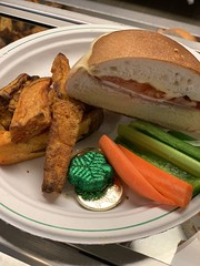 (cafe_services_inc) Tags: cafeservicesinc freshpicks sanborn stpatricksday sub cheese tomato bacon turkey sandwich fries carrots celery