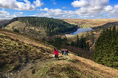Another Day in Paradise! (Nikki M-F) Tags: wales uk britain hills walkers ramblers landscape theelanvalley dam reservoir woods trees path