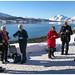 Koffiestop in de omgeving van Lødingen op de Lofoten in Noorwegen ...