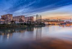 Sur les bords de Marne (aurlien.leroch) Tags: france valdemarne maisonsalfort marne sunset paris nikon cityscape