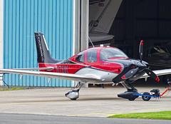 N78MC Cirrus SR-22 (SteveDHall) Tags: aircraft airport aviation airfield aerodrome aeroplane airplane blackpool blackpoolairport bpl blk egnh 2019 generalaviation ga n78mc cirrus sr22 cirrussr22