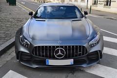 Mercedes AMG GTR (Monde-Auto Passion Photos) Tags: voiture vehicule auto automobile mercedes amg gtr coupé gris grey sportive supercar rare rareté france fonta fontainebleau