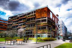 Car park (Maria Eklind) Tags: parkeringshus sweden malmö carpark phusetdockan skånelän sverige se